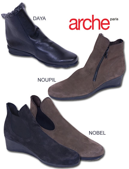 Arche Booties Fall and Winter 2007