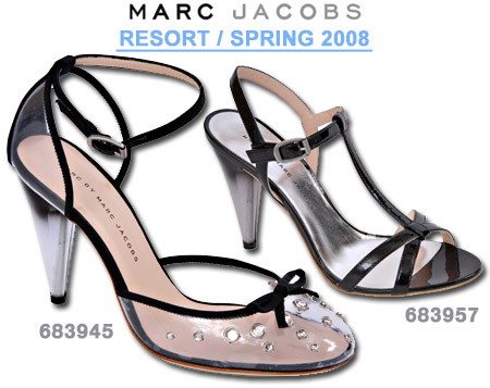 Marc by Marc Jacobs T-Strap Sandals Spring 2008