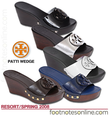 Tory Burch Patti Wedges