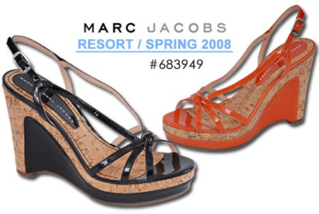 Marc by Marc Jacobs 683949 Cork Wedge