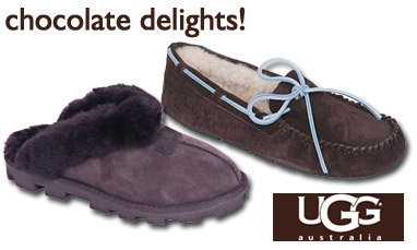 Ugg Australia Brown Coquette and Dakota