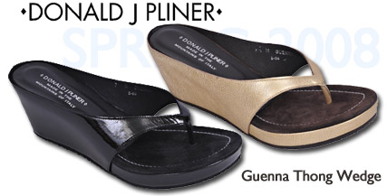 Donald J. Pliner Guenna Wedge Thong