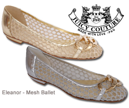 Juicy Couture Eleanor Mesh Ballet