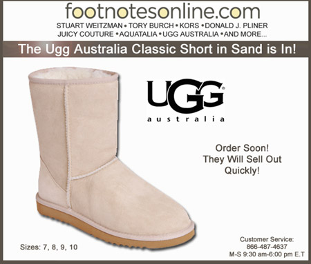 Ugg Australia Classic Short in Sand
