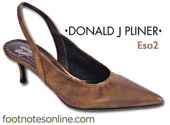 Donald J. Pliner Eso2 Metallic GoldSling