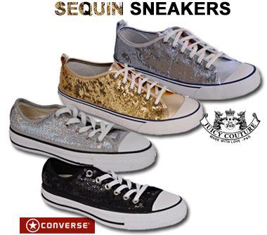 Sequin Sneakers