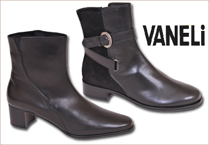 ankle boots for women. Vaneli Ankle Boots for Fall/